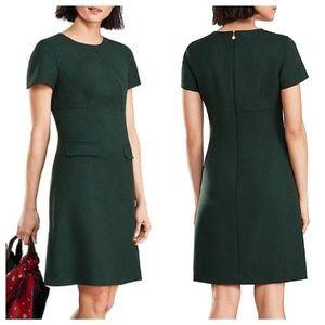 NWT Brooks Brothers 4 Wool Red Fleece Dress